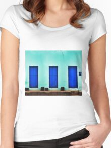 BLUE HOUSE Women's Fitted Scoop T-Shirt