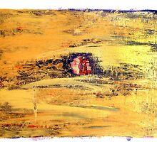 Outside - Gold by Lynn Ede