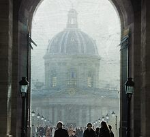 Morning Rush at the Louvre by Mylan Dawson