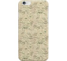 Siskiyou Trees Knit iPhone Case/Skin