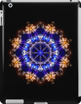 Diamond Blue iPad by Ra12