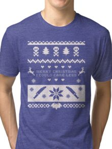 don't come home for xmas Tri-blend T-Shirt