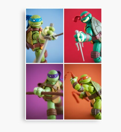 Heroes In A Half Shell  Canvas Print