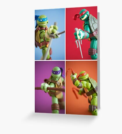 Heroes In A Half Shell  Greeting Card