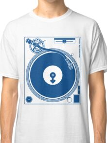 Male DJ Turntable - Deck Disc Jockey Classic T-Shirt