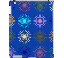Stars on blue iPad Case/Skin