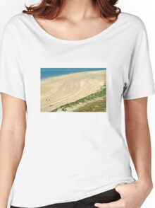The Beach - Rock Cornwall Women's Relaxed Fit T-Shirt