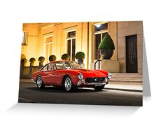 Ferrari 250 GT Lusso  Greeting Card