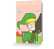 the hero of time Greeting Card