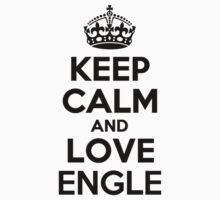 Keep Calm and Love ENGLE Kids Clothes