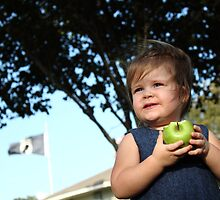 Ella and her Apple by Olivia Moore