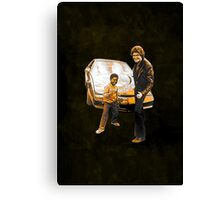 Arnold & Michael Canvas Print