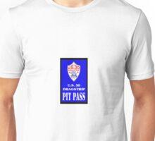 U S 30 Dragstrip Pit Pass Unisex T-Shirt