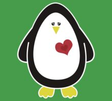 I Carry Your Heart With Me - Penguin Tshirt / Sticker Kids Clothes