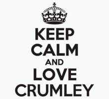 Keep Calm and Love CRUMLEY Kids Clothes