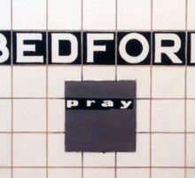 """Bedford Stuyvesant"" Sticker"