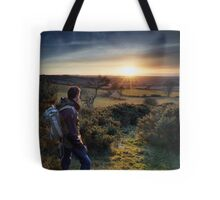 Sunset Watcher Tote Bag