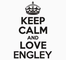 Keep Calm and Love ENGLEY Kids Clothes