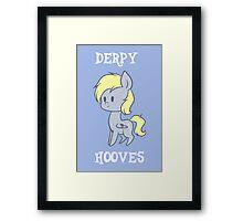 My Little Pony: Chibi Derpy Hooves Framed Print