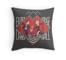 BLACK LODGE DANCE HALL Throw Pillow