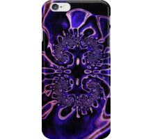 Royal Abstract Pansy iPhone Case/Skin