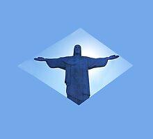 Cristo  - Brasil  by claudiaraujo