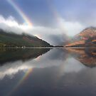 Mountains,mist and rainbows. Loch Duich. North West Highlands. Scotland. by photosecosse /barbara jones