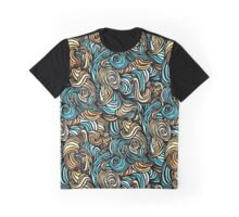 grunge pattern monsters Graphic T-Shirt