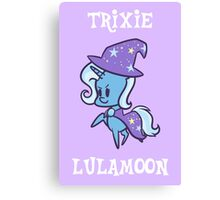 My Little Pony: Chibi Trixie Lulamoon Canvas Print