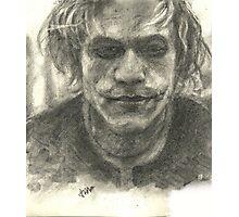 Heath Ledger-Joker Photographic Print