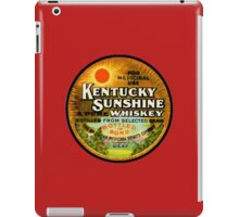 Kentucky Sunshine Whiskey iPad Case/Skin