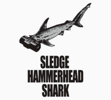 Sledge Hammerhead Shark by pixelman