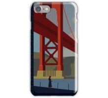 Vertigo-Golden Gate iPhone Case/Skin