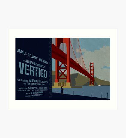 Vertigo-Golden Gate Art Print