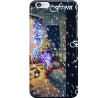 Snowy and Bright Blessings for Christmas iPhone Case/Skin