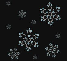 Chemical Snowflakes One Piece - Short Sleeve