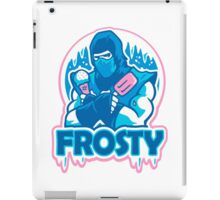 SUBZERO MORTAL KOMBAT ICE CREAM iPad Case/Skin