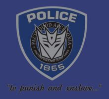Barricade Decepticon logo by superedu