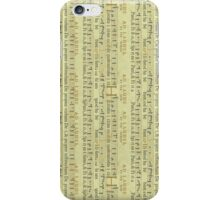 Vintage Music iPhone Case/Skin