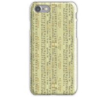 Vintage Music iPhone Case/Skin