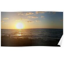 Photograph of Sunset Poster