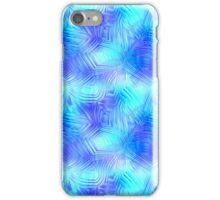 Soft Blue Patterned Glass iPhone Case/Skin
