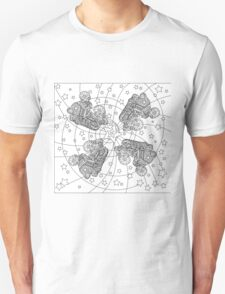 Art Therapy Quad Skates T-Shirt