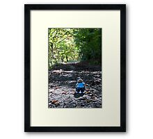 Wait for me Jimmy! Framed Print