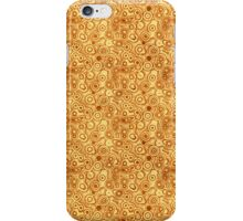 Red Bubbles on Gold iPhone Case/Skin