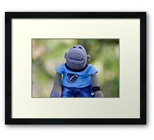 Just Jimmy! Framed Print