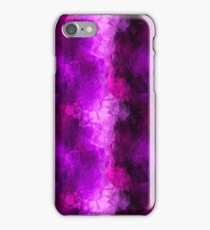 Purple Tissue Paper iPhone Case/Skin