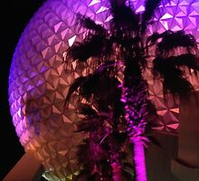 Epcot At Night by ebayers96