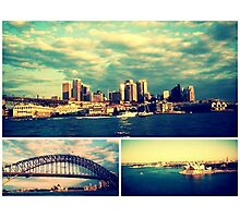 Postcards from Sydney Photographic Print