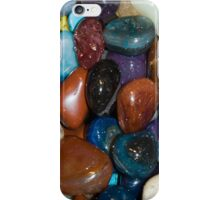 Polished Rocks of the Rainbow iPhone Case/Skin